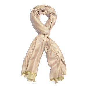Dusty Rose and Cream 100% Modal Reversible Scarf (82x28 in)
