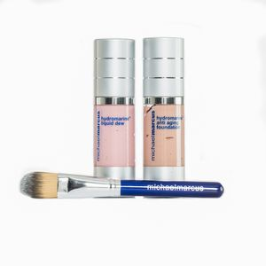 Michael Marcus 3 Pc Hydromarine Anti-Aging Foundation, Hydrmarine Liquid Dew (1 oz) (Medium)