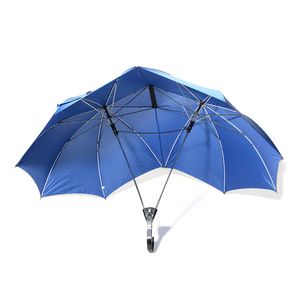 Blue One Holder Couple's Umbrella (34.5 in)