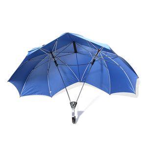 Blue One Holder Couple's Umbrella (34.5 in)