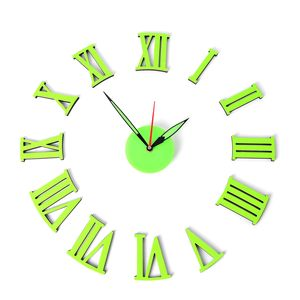 Design Your Own Time Glow-in The Dark Roman Numerals Clock (AAA Battery Not Included)