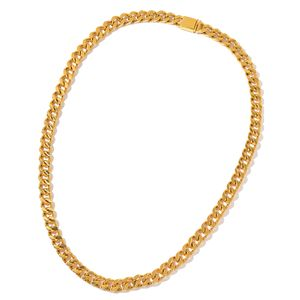 ION Plated YG Stainless Steel Curb Chain Necklace (35 in)