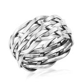 Artisan Crafted Sterling Silver Men's Ring (Size 13.0)