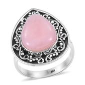 Artisan Crafted Peruvian Pink Opal Sterling Silver Ring (Size 9.0) TGW 7.34 cts.