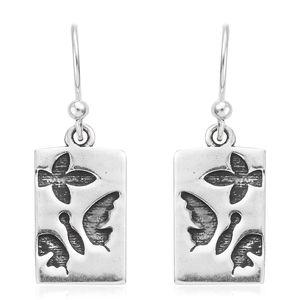 Sterling Silver Butterfly Earrings (2.7 g)