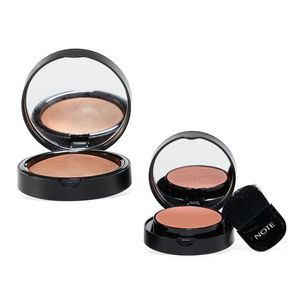 NOTE Blusher Set (Light Taupe Bronzer and Light Pink Blush)