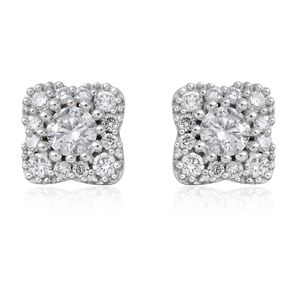 14K WG Diamond (G I1) Stud Earrings TDiaWt 0.33 cts, TGW 0.33 cts.