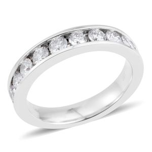 14K WG Diamond (H I2) Band Ring (Size 7.0) TDiaWt 1.00 cts, TGW 1.00 cts.