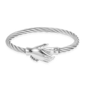 Stainless Steel Bangle (8 in)