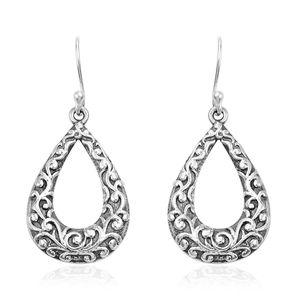 Sterling Silver Teardrop Earrings (5.31g)