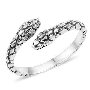 Sterling Silver Snake Ring (Size 6.0)