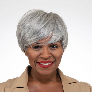 Easy Wear Hair Liz Wig - Salt & Paper