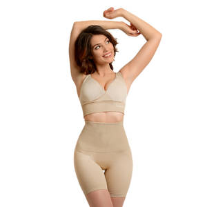 SANKOM Beige Slimming & Posture Shaper with Cooling Fibers (S/M)