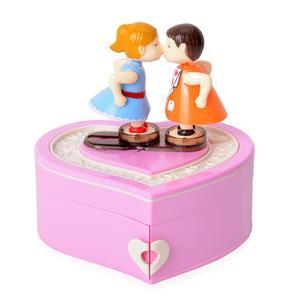 Valentine Kiss Love Music Jewelry Box