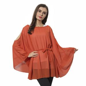 Orange 100% Polyester Apparel with Waistband (One Size)