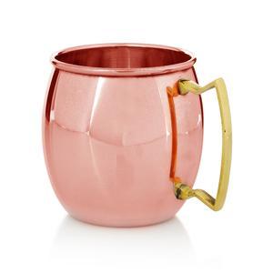 Copper Mug with Brass Handle (16 oz)