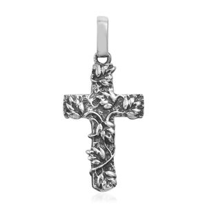 Sterling Silver Cross Pendant without Chain (3.7 g)