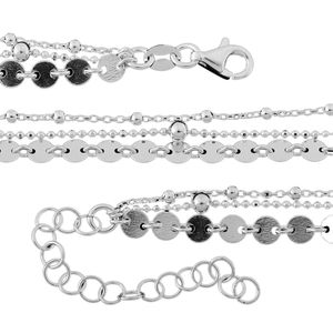 Sterling Silver Chain (16 in)