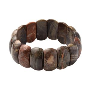Agate Beads Bracelet (Stretchable) TGW 318.50 cts.