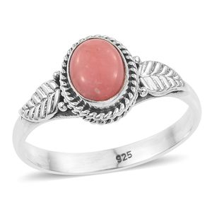 Artisan Crafted Oregon Peach Opal Sterling Silver Ring (Size 8.0) TGW 0.88 cts.
