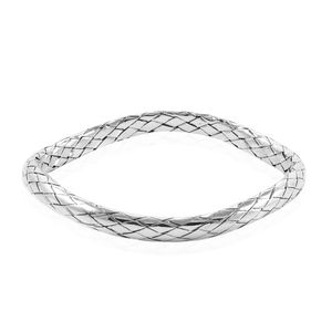 Bali Legacy Collection Sterling Silver Bangle (7.50 in, 24 g)