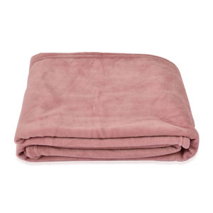 Blush Microfiber Throw (50x60 in)